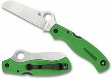 Нож складной SPYDERCO ATLANTIC GREEN LC200N C89FPGR