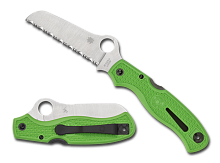 Нож складной SPYDERCO ATLANTIC GREEN LC200N C89FSGR
