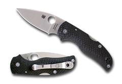 Нож складной SPYDERCO Native 5 Fluted Carbon Fiber C41CFFP5